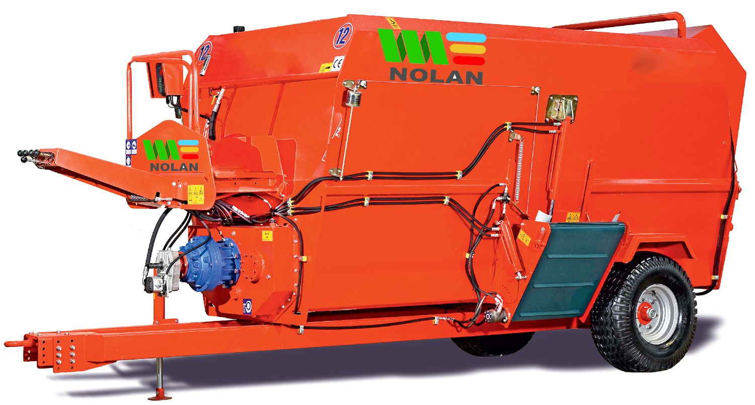 Horizontal Feeder Mixers - Feeding Equipment for Animals - Nolan UK