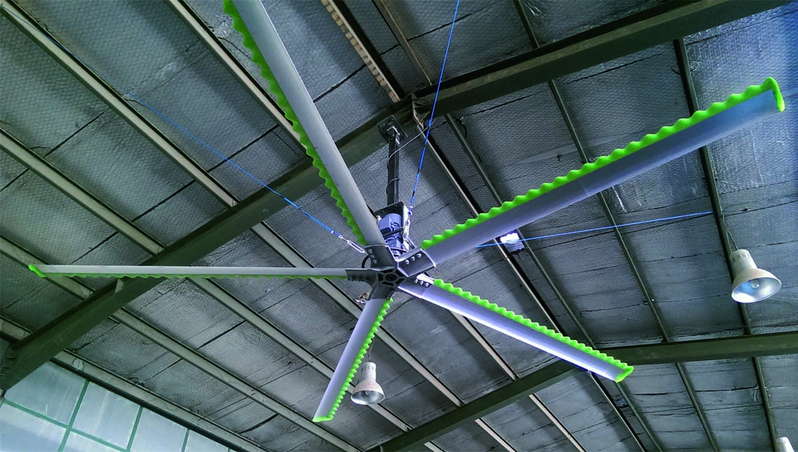 Fans - Ventilation Systems for Dairy Farms - Nolan UK